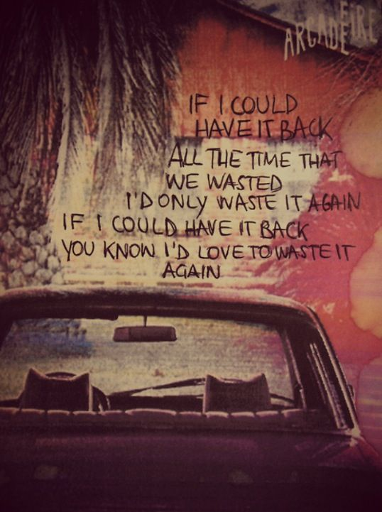 arcade fire. The suburbs was their best album. It was beautiful.