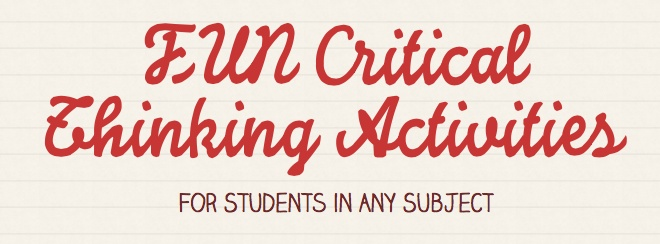 Best 25 Critical Thinking Quotes Ideas On Pinterest: Best 25+ Critical Thinking Activities Ideas On Pinterest
