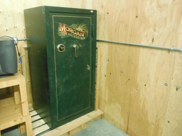 Morgan Fort Gun Safe 1 Steel Bolts 316 Steel Plate