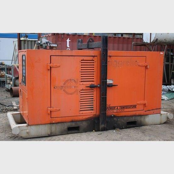 Stanford generator supplier worldwide | Used Stanford 110 KVA diesel generator for sale - Savona Equipment