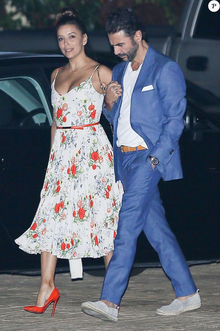 Eva Longoria et Jose Baston à Los Angeles, le 27 août 2016