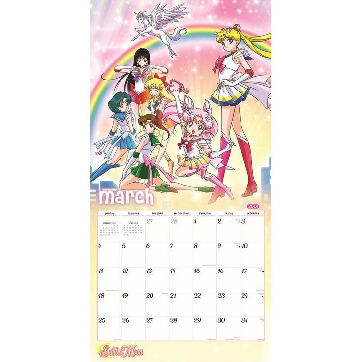 Sailor Moon 2018 Calendar https://www.amazon.com/2018-Sailor-Moon-Wall-Calendar/dp/1620217295/ref=as_li_ss_tl?s=movies-tv&ie=UTF8&qid=1505860654&sr=1-1-spons&keywords=sailor+moon&psc=1&linkCode=ll1&tag=mypintrest-20&linkId=173ef9c2e353b6a024e62106e3b3a24d