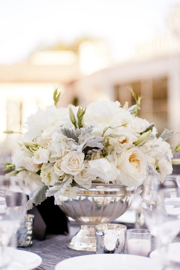 Pasadena wedding by events by heather ham picotte for Table arrangements