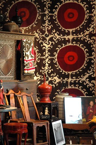 pinkpagodastudio: Oh Suzani: Uzbec Textiles