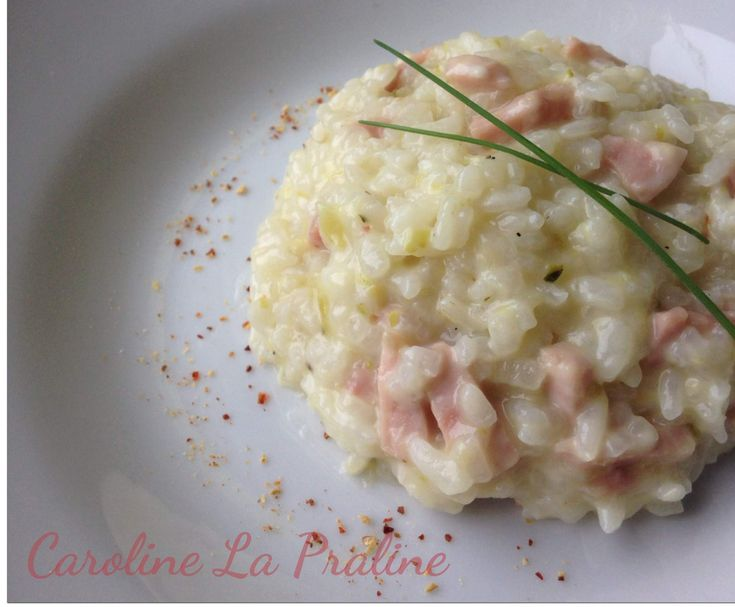 Recettes pates courgettes lardons - Risotto tomate thermomix ...