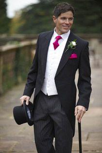 Black Tails Wedding Suit Hire Leicester