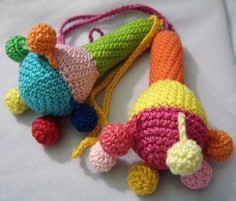 Häkeln/Crochet - fimo, kurse, schmuck, schmuckzubehör