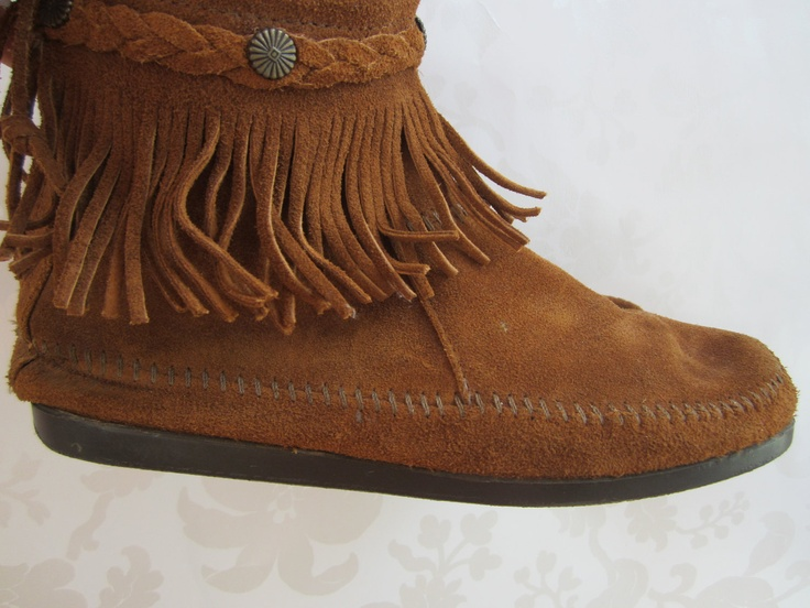 25 best ideas about moccasin ankle boots on