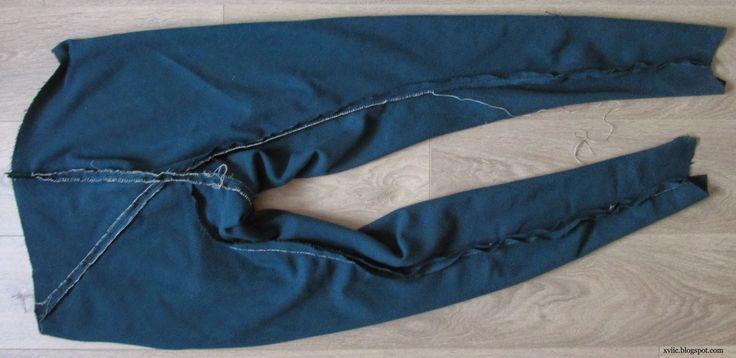 Spodnie zrekonstruowane w oparciu o zabytek z Węgier, z miejscowości Szaroszpotok . Zdjęcie pochodzi z bloga: xviic.blogspot.co... Autorem bloga jest: Сергей Шаменков