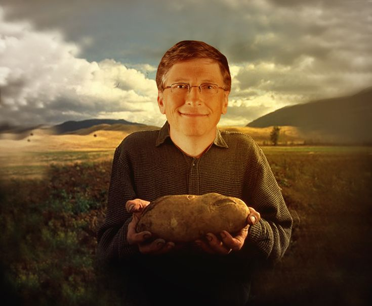 Time to grow up and give yourself a better childhood. Let me explain, via Bill Gates the Potato Farmer.