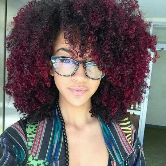 DEFINITE hair goals!!! And I LOVE the color!!! #coilybynature