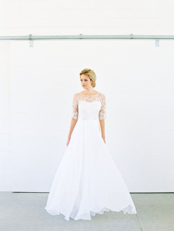 Lace Wedding Dresses Belfast : Ideas about silk wedding dresses on