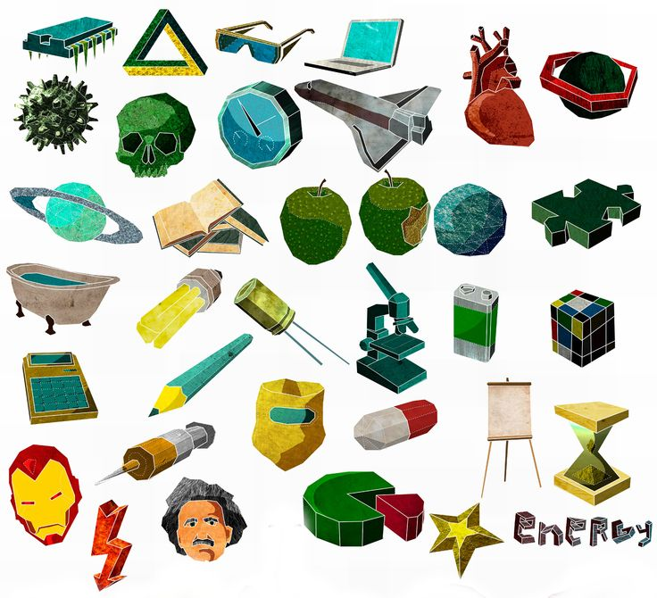 Introducing Your New Design Elements - Our vividly coloured Science 2 graphic set has an angular 3-dimensional look, making sure that each element really pops out of your glog and draws learners in! Amongst graphics representing biology, physics and chemistry are some fun reminders of the impact scientific study has in our day-to-day lives – from inoculation to the rubiks cube – and cameos from celebrated scientists such as Albert Einstein and… Iron Man. #Glogster #Elements
