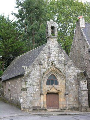 Auray : la chapelle St-Cado
