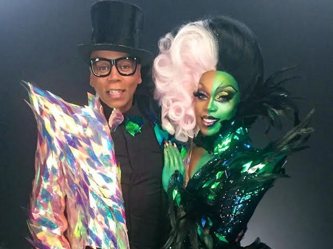 "RuPaul And The ""Drag Race"" Girls Are ""Straight Outta Oz"" With Todrick Hall 3/21/2017"