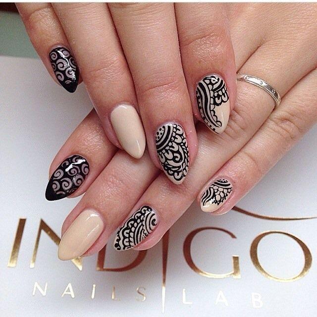 by Ania Leśniewska Indigo Nails Lab - Find more Inspiration at www.indigo-nails.com #Nail #Nailsart #Mani #Nails #Nude