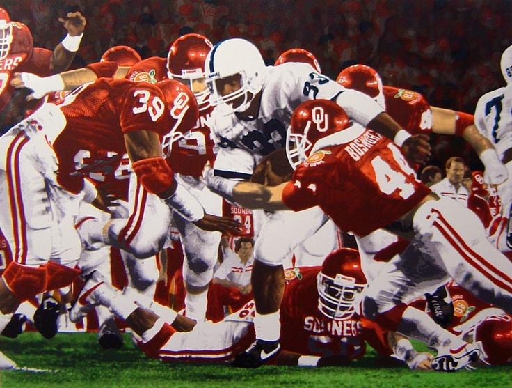 Oklahoma Sooners 1985 National Championship Sooner