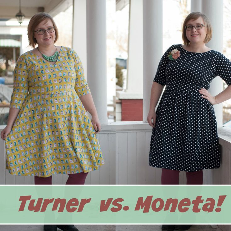 Cashmerette Turner Vs. Colette Moneta: A Pattern Comparison