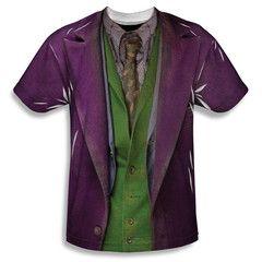 Batman Dark Knight Joker Costume Sublimation Mens T-Shirt $37.99 (includes free U.S. shipping)
