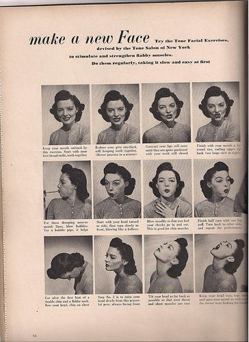 Think, that Facial muscle toning exercises charming
