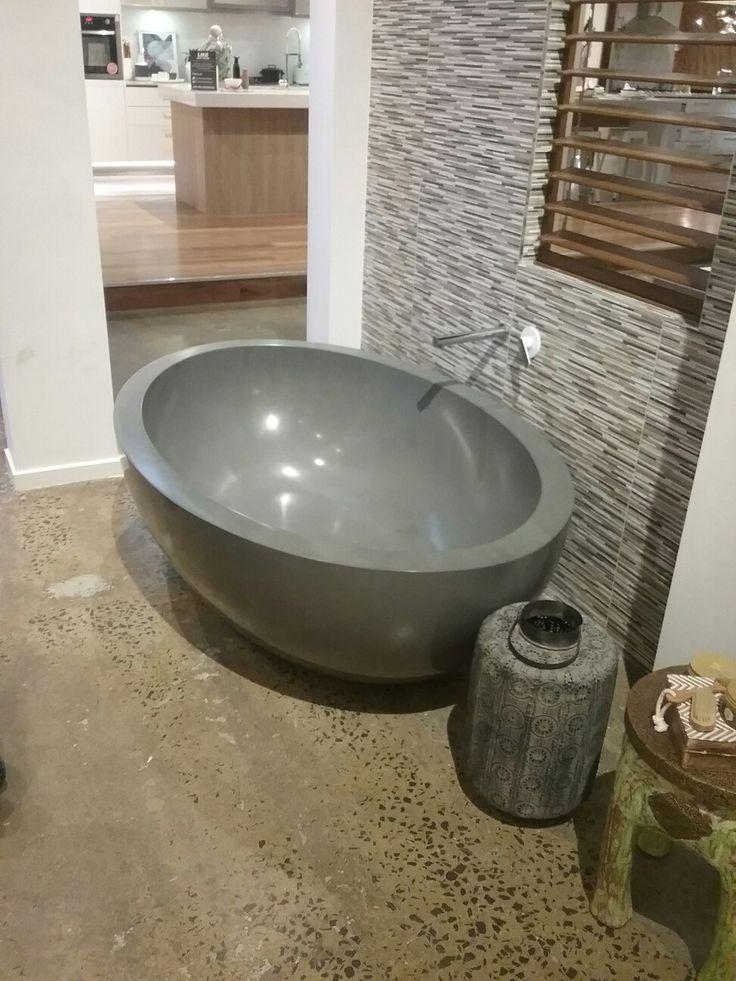Concrete bath #porterdavis  #worldofstyle