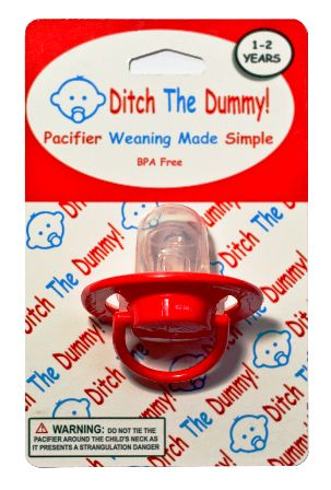 """One Step Pacifier Weaning System. Pacifier Weaning Made Easy With """"Ditch The Dummy"""" Order Online Today"""