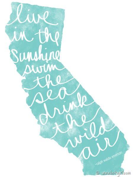 California project life freebie - listgirl_CA_Emerson_quote_3x4
