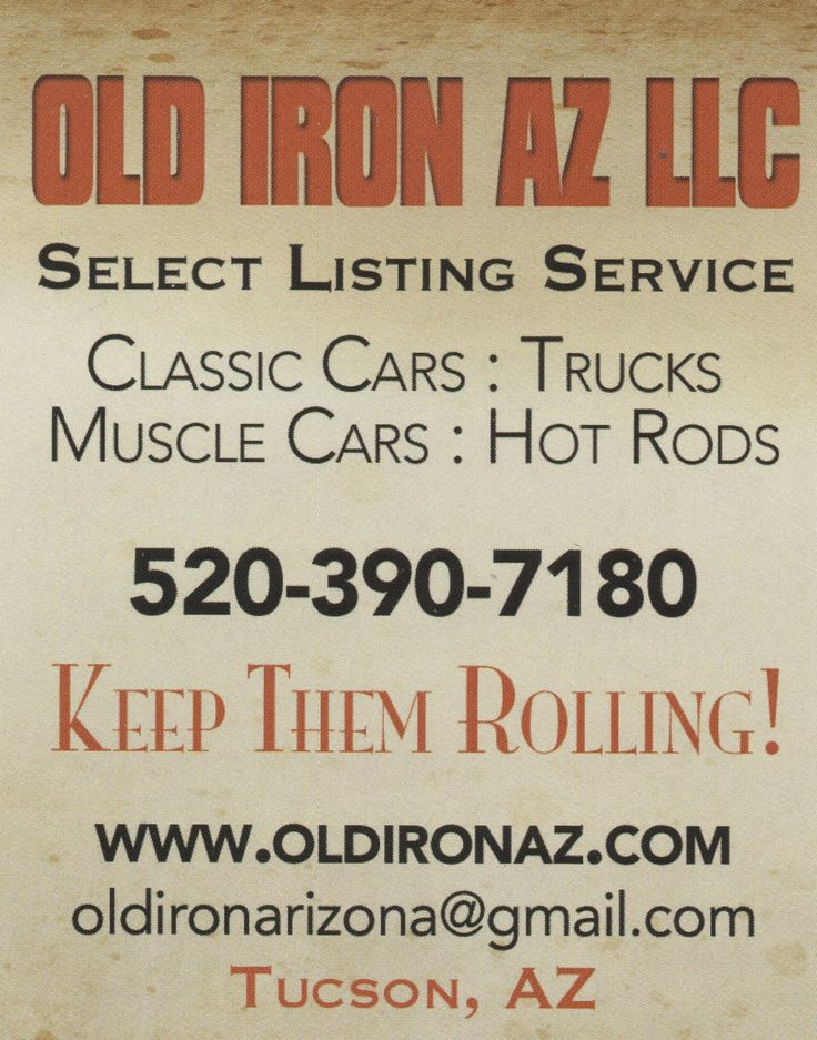 18 best Old Iron AZ - Project cars FOR SALE! images on Pinterest ...