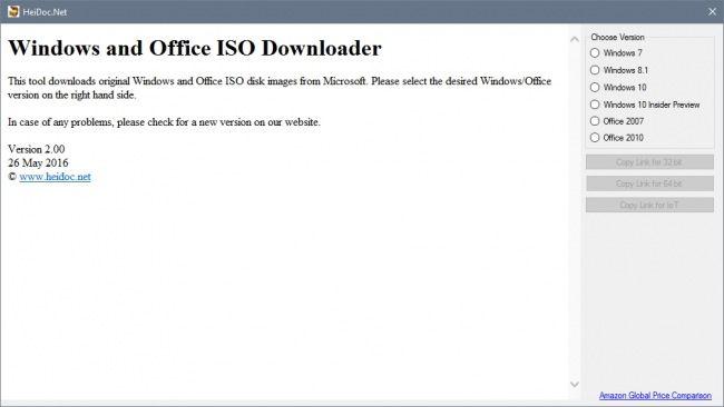 Windows and Office ISO Download Tool — скачиваем образы дисков операционной системы с серверов Microsoft