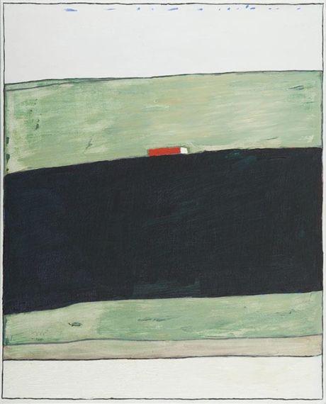 Artwork by Stanislaw Fijalkowski, 11 VI 2003, Made of oil on canvas