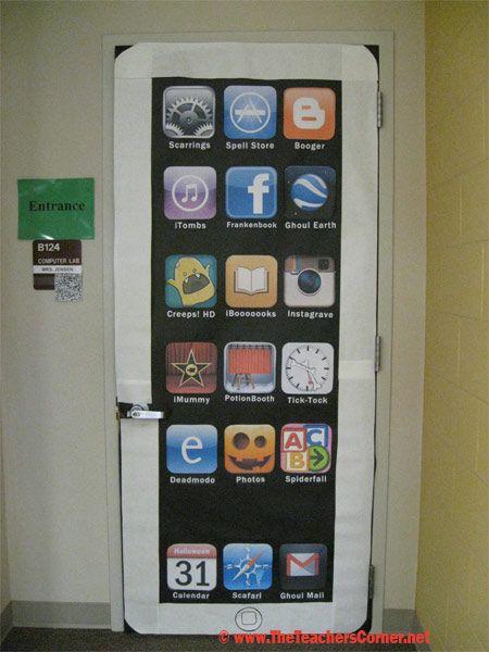 17 best ideas about halloween bulletin boards on pinterest for App decoracion