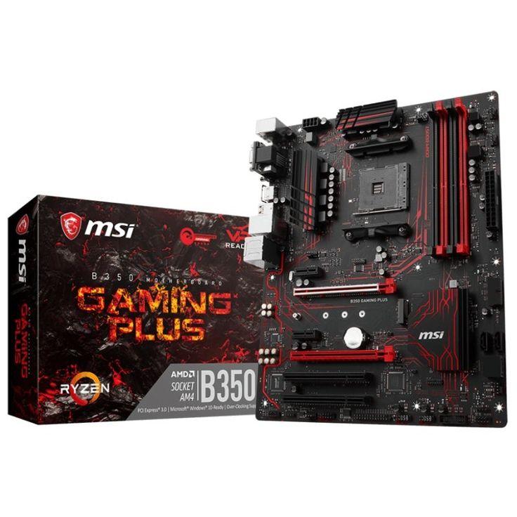 MSI Placa Base B350 GAMING PLUS ATX AM4