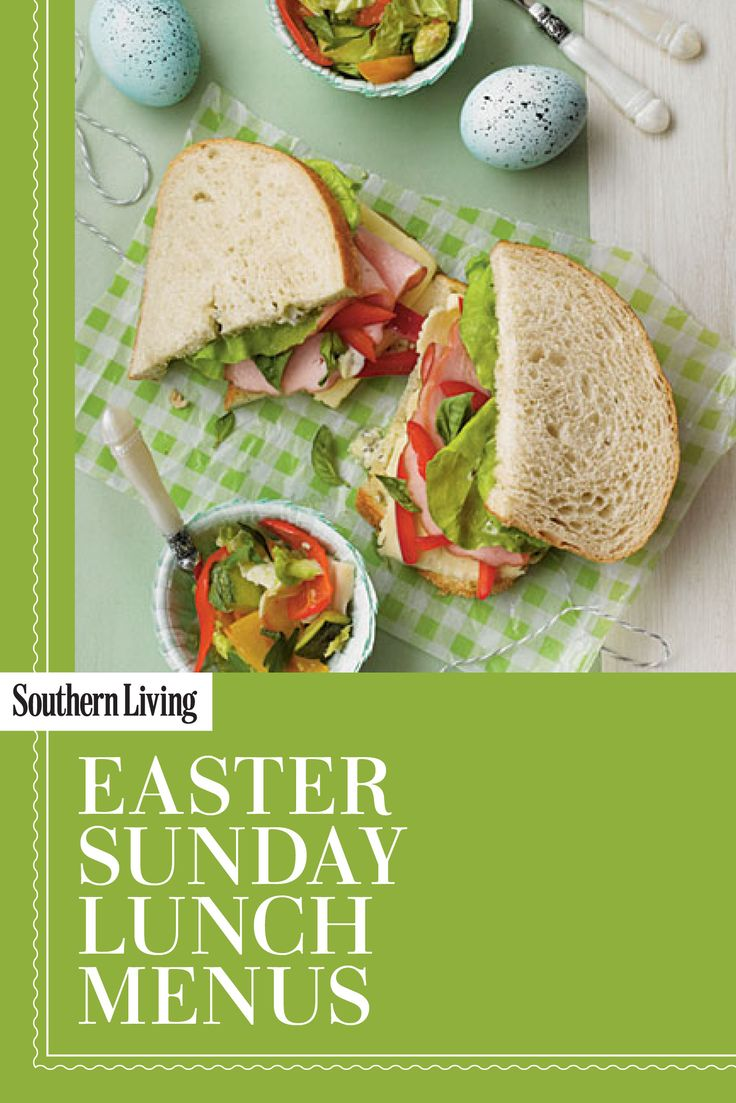 51 best images about springtime on pinterest easter for Easy easter lunch menu