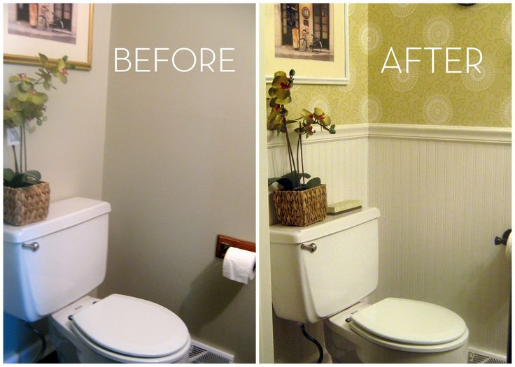 Merveilleux 1/2 Bath Decorating Ideas | In Love With Wallpaper?