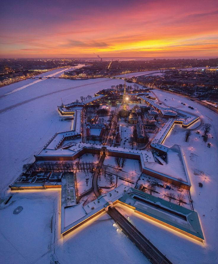 аэрофото аэрофотосъемка панорама дрон мультикоптер петербург санкт-петербург питер спб петропавловка петропавловская