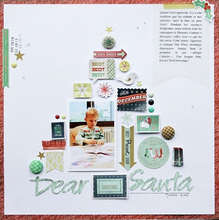 dear Santa* Basic Grey DT by sophie crespy at @Studio_Calico