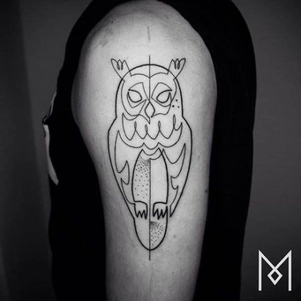 5fa3e8d5c Mo Ganji - Single Continuous Line Tattoos - Ran Moneta Collection | Single  Continuous Line Tattoos | Continuous line tattoo, Single line tattoo, ...