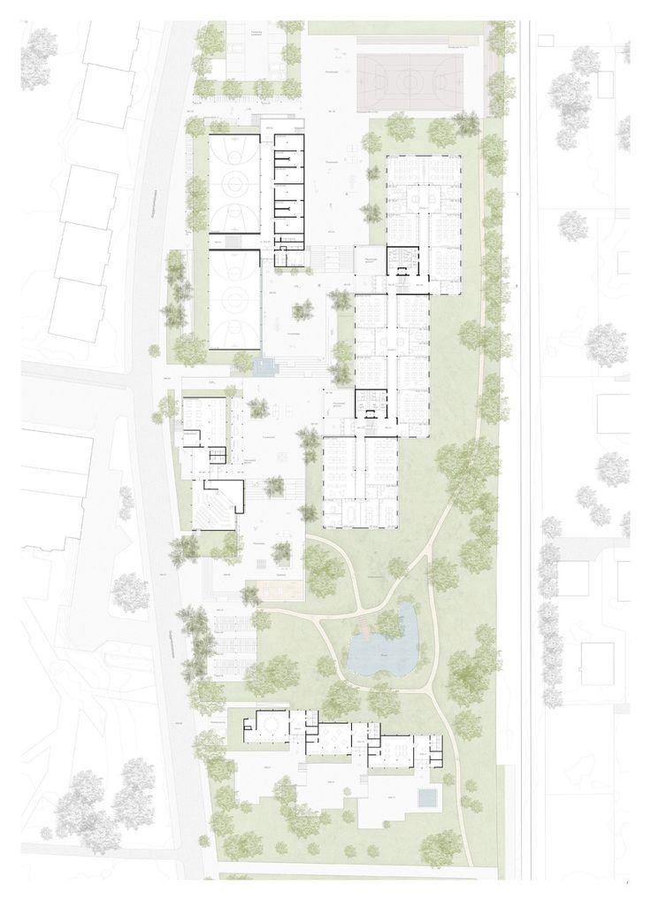 Gigon  Guyer . Neubau Klassentrakt Schulhaus Wallrüti . Winterthur (8)