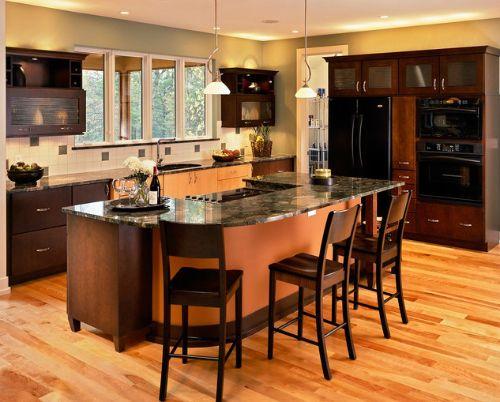 Modern kitchen with black appliances go modern and contemporary with black kitchen appliances - Modern kitchen with black appliances ...