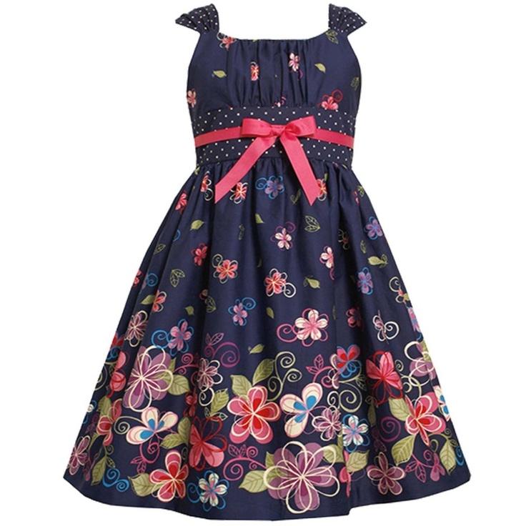 Vestido Bonnie Jean Tamanho 4, 5, 6x E 8 Anos