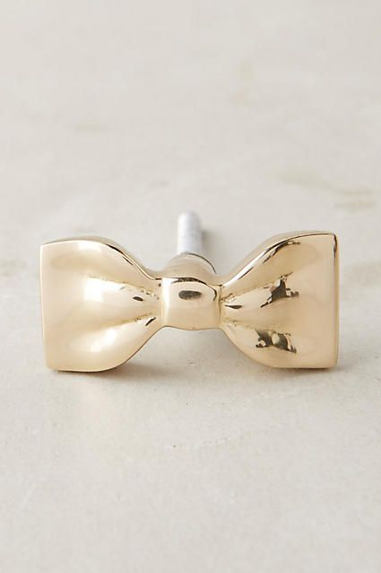Bow-Tied Knob - anthropologie.com