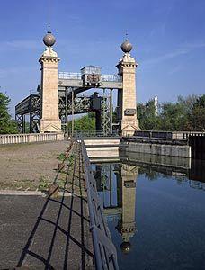 Das Alte Schiffshebewerk Henrichenburg in Waltrop wurde 1889 erbaut, Foto: Annette Hudemann
