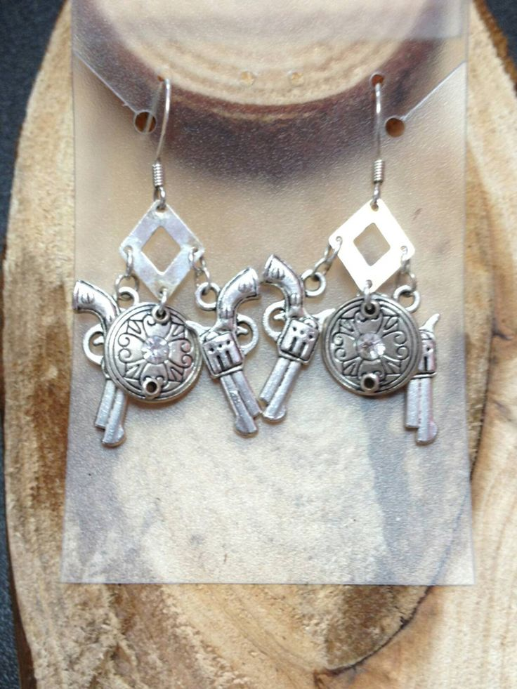 A personal favorite from my Etsy shop https://www.etsy.com/listing/471263805/country-girl-chandelier-dangle-earrings