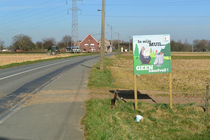 billboard for a local campaign