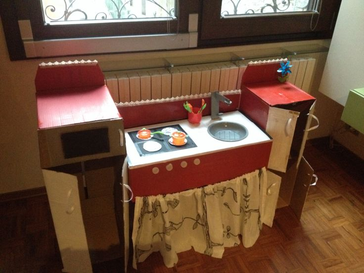 Cucina in cartone:)