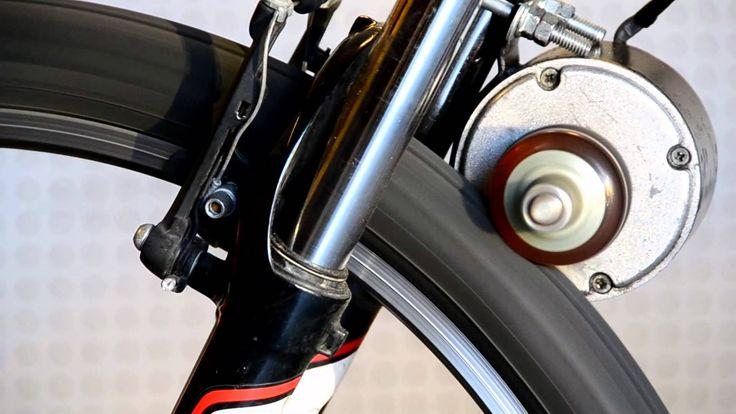 Ahmet C. Aydogan, simple but functional.DIY Electric Bike Conversion