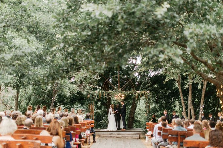 This is an Oklahoma Wedding - amazing location.