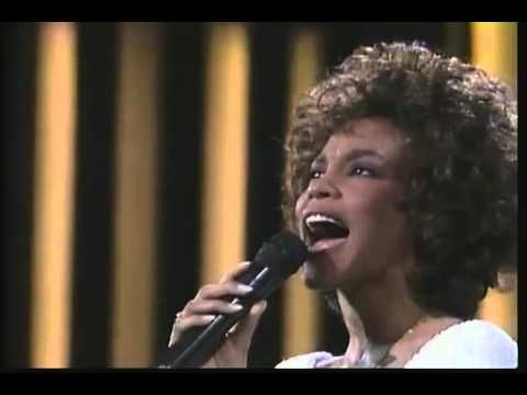 ▶ Whitney Houston - One Moment In Time (Official Music Video) - YouTube