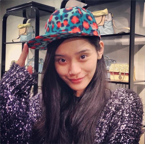 <3 the leopard KENZO New Era cap!