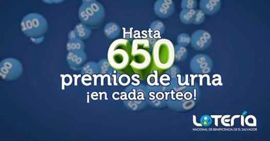 El Salvador: Lotería nacional de Beneficencia celebro el sorteo La Millonaria Nº2012 del miércoles 1 de octubre 2014.  Resultados Lotería Nacional de El Salvador miércoles 1-10-14. Primer Premio04191-No fue vendido - $175,000..mas detalles ver o consultar el blog